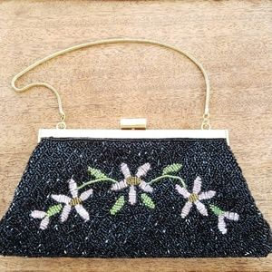 Millicent Vintage Evening Bag Clutch with Chain
